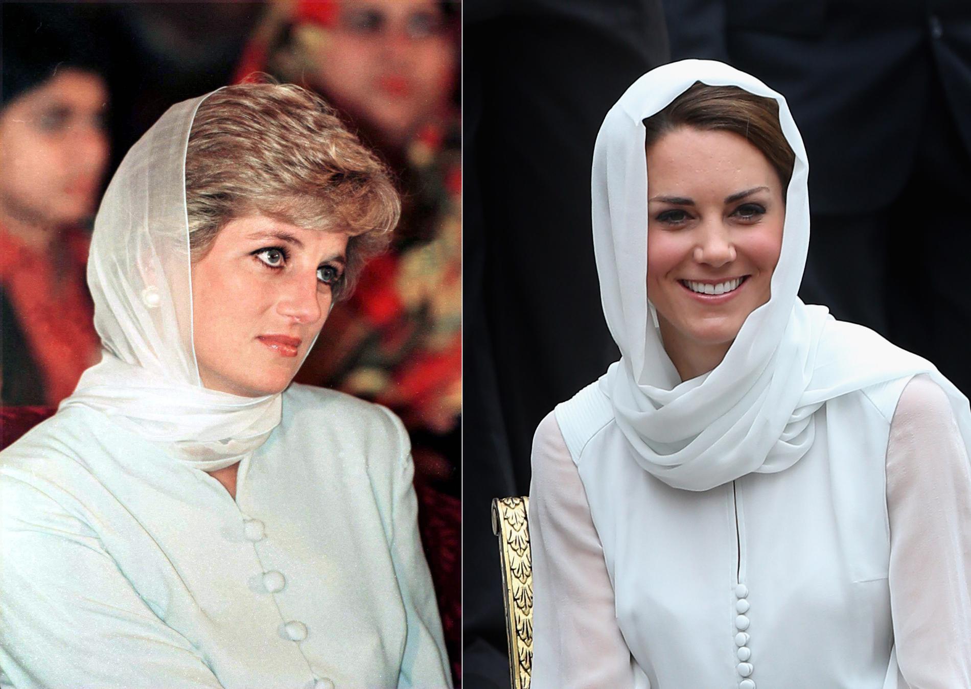 Extrêmement Kate Middleton : ses clins d'œil stylistiques à Lady Diana - EM36