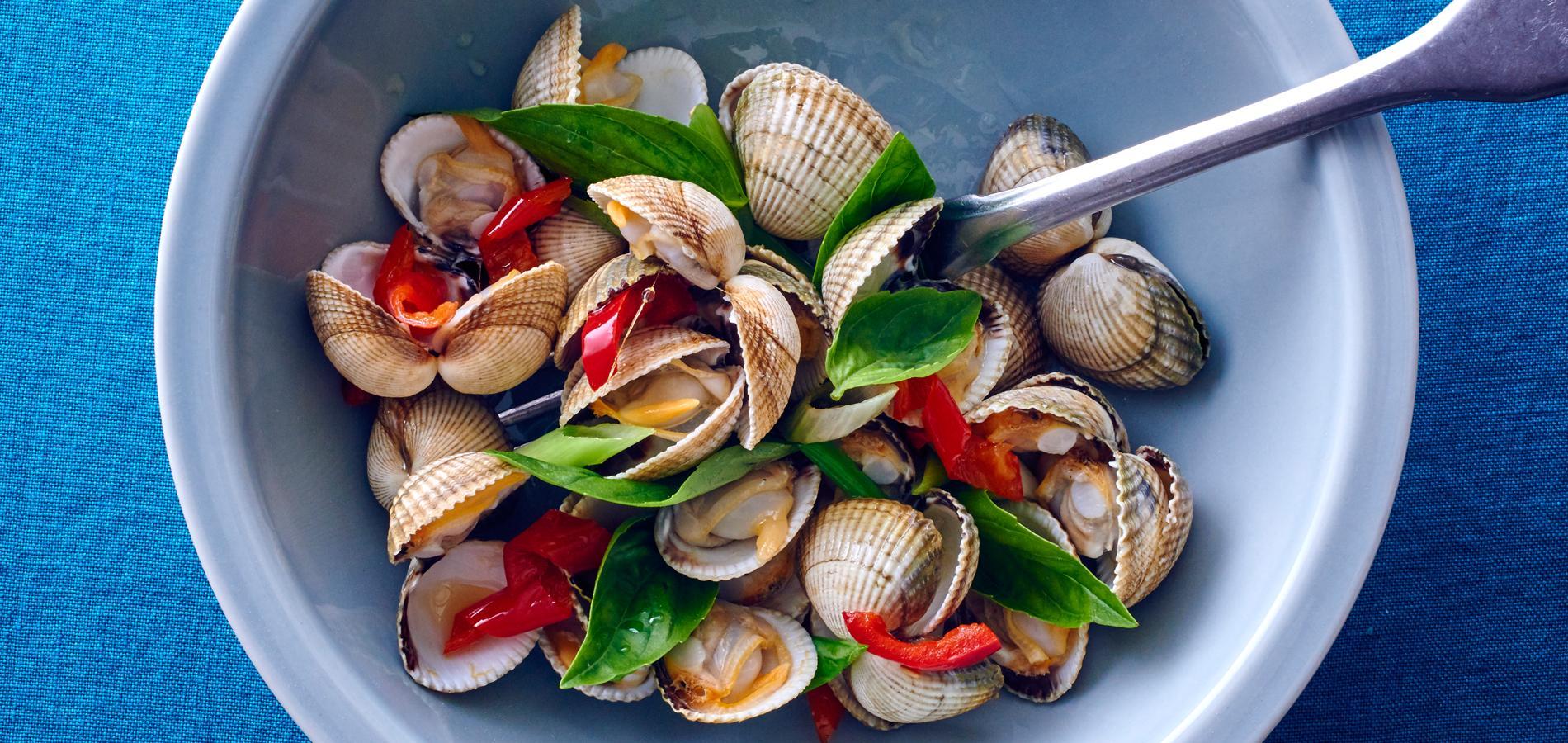 Coquillages et crustac s nos meilleures recettes d 39 t - Cuisiner le loup de mer ...