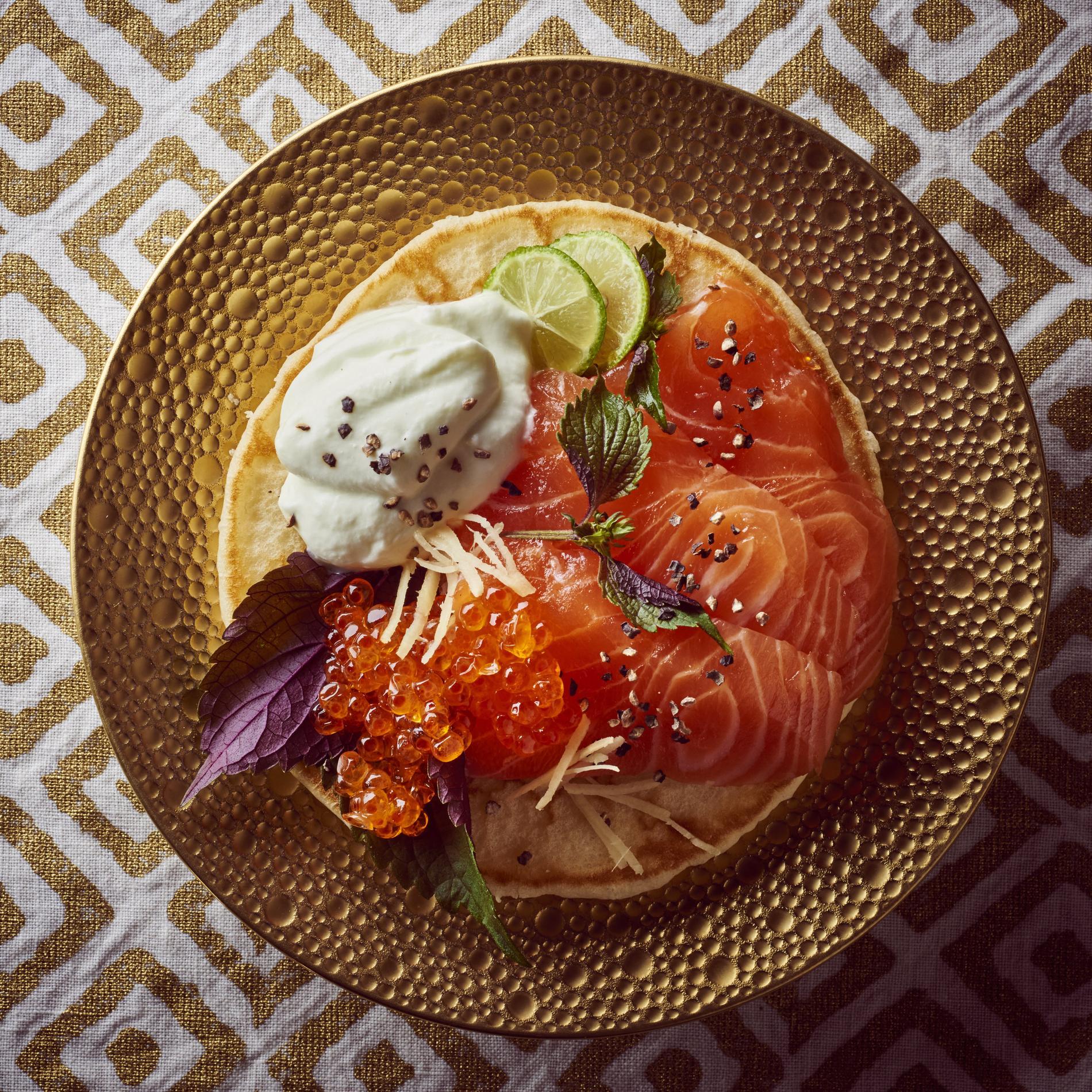 Recette gravlax et chantilly au wasabi cuisine madame - Saumon gravlax rapide ...