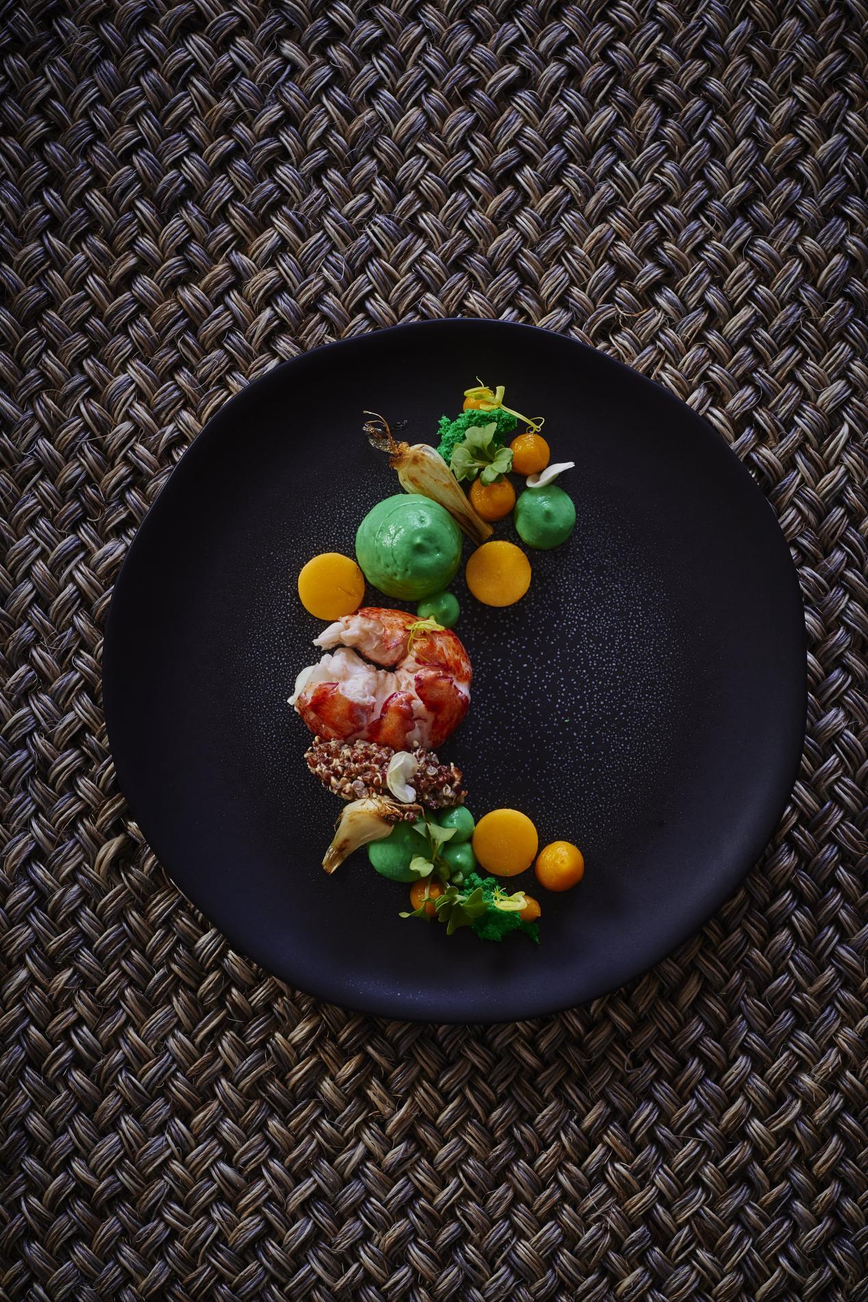 Recette homard au quinoa et avocat cuisine madame figaro - Accompagnement homard grille ...