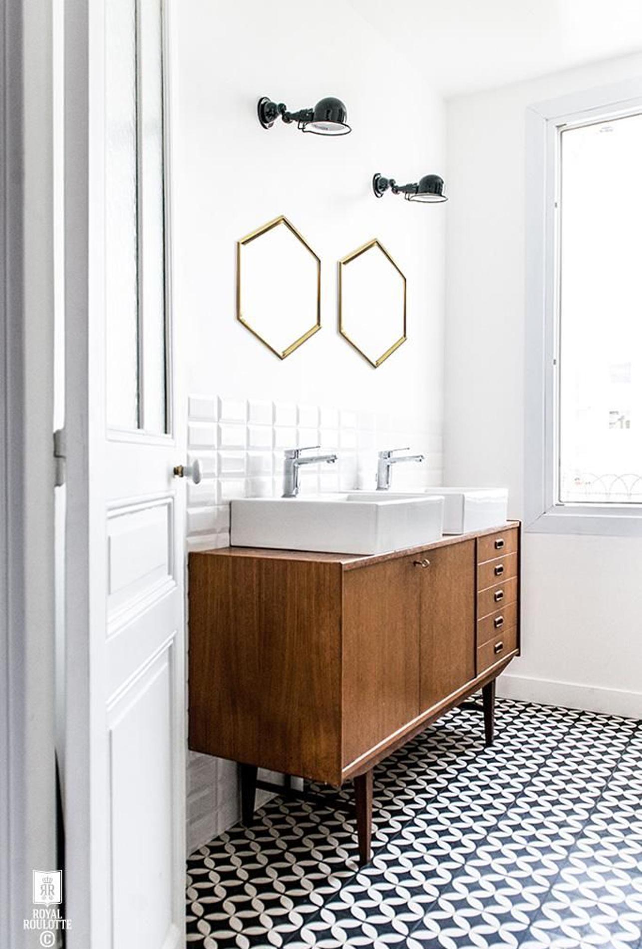 Dix idées pour rafraîchir sa salle de bains à petit prix - Madame Figaro