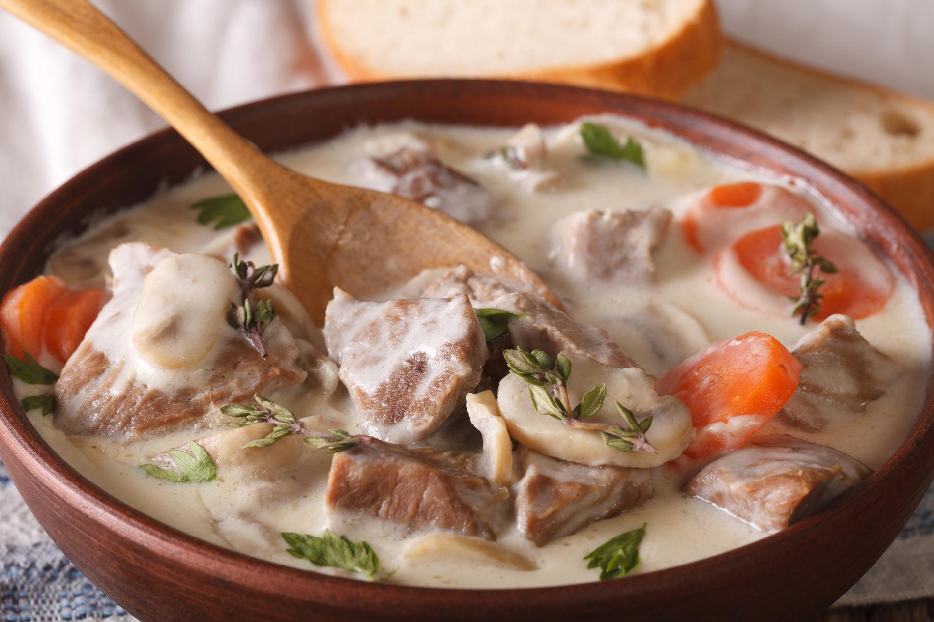 Recette blanquette de veau cuisine madame figaro - Recette de cuisine blanquette de veau ...