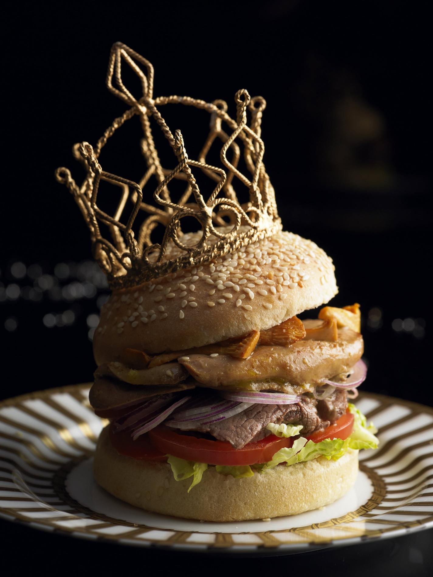 Recette burger foie gras et girolles cuisine madame figaro - Recette du foie gras ...