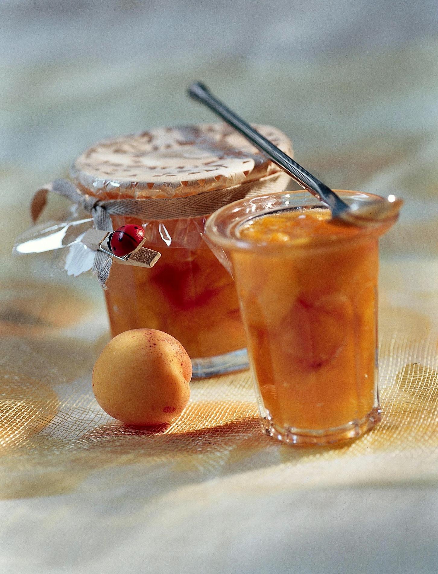 confiture abricot et pomme