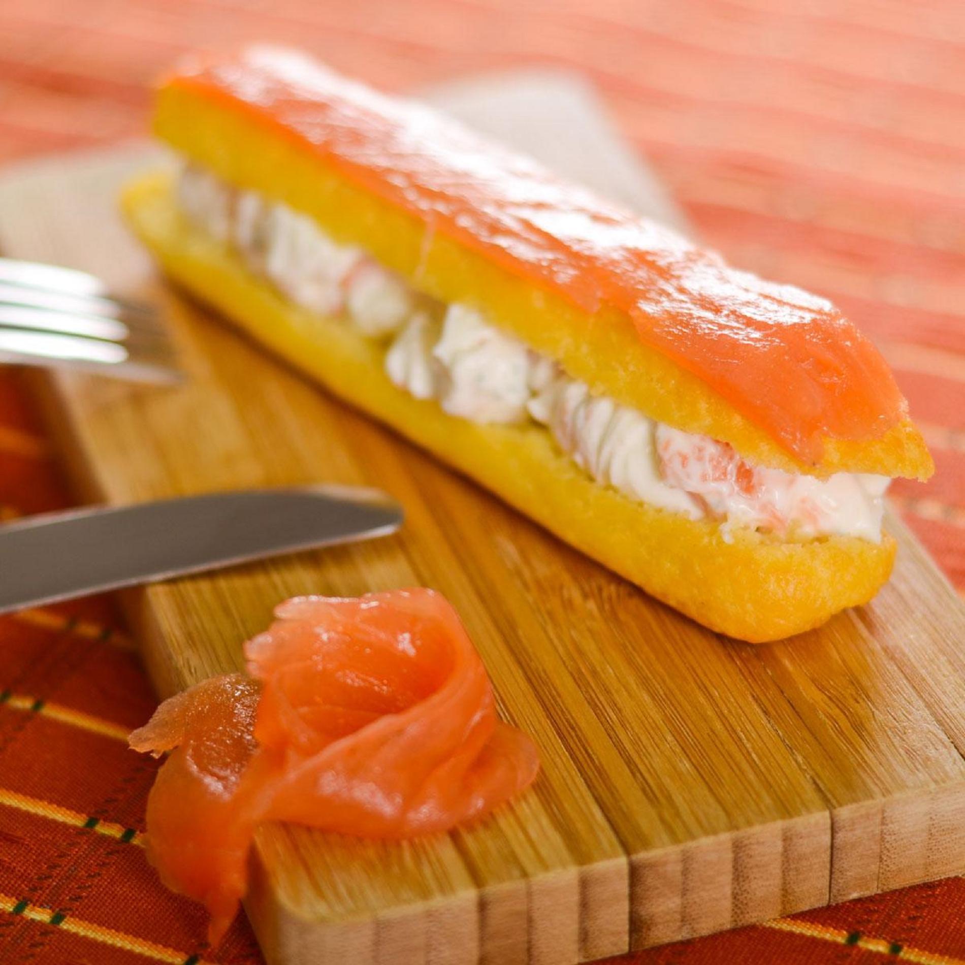 Recette clair au saumon fum cuisine madame figaro - Repas de noel americain ...