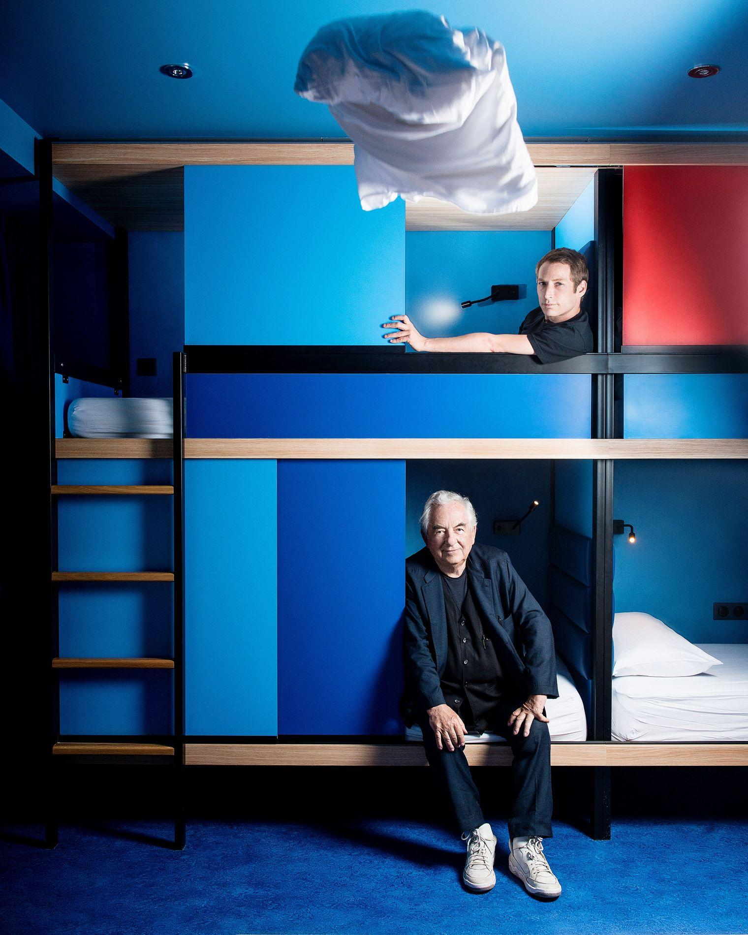 Yooma paris la nouvelle auberge du futur imagin e par for Design hotel daniel campanella