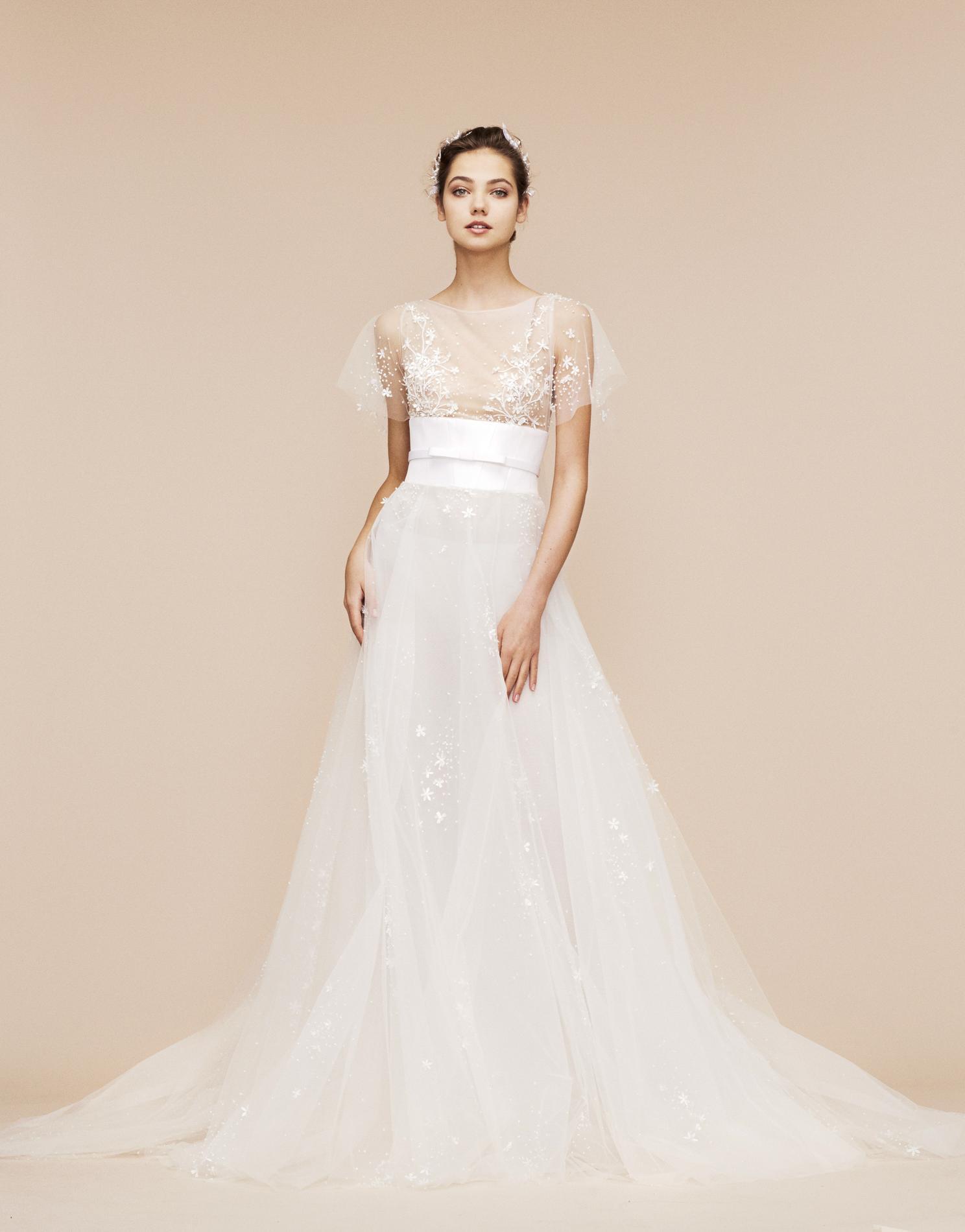 Le meilleur de la Bridal Week automne,hiver 2018,2019 , Reem Acra Le  meilleur de la Bridal Week automne,hiver 2018,2019 , Vera Wang Le meilleur  de