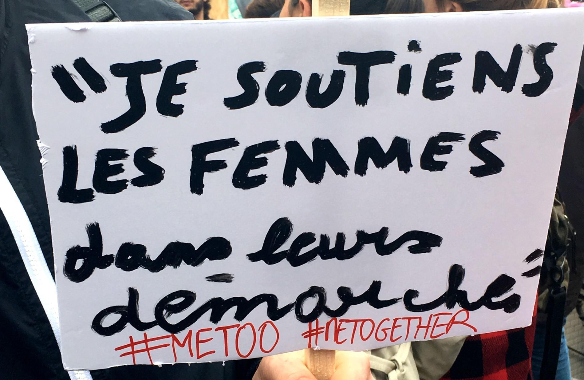Connu Rassemblement à Paris contre le harcèlement sexuel :  AN17