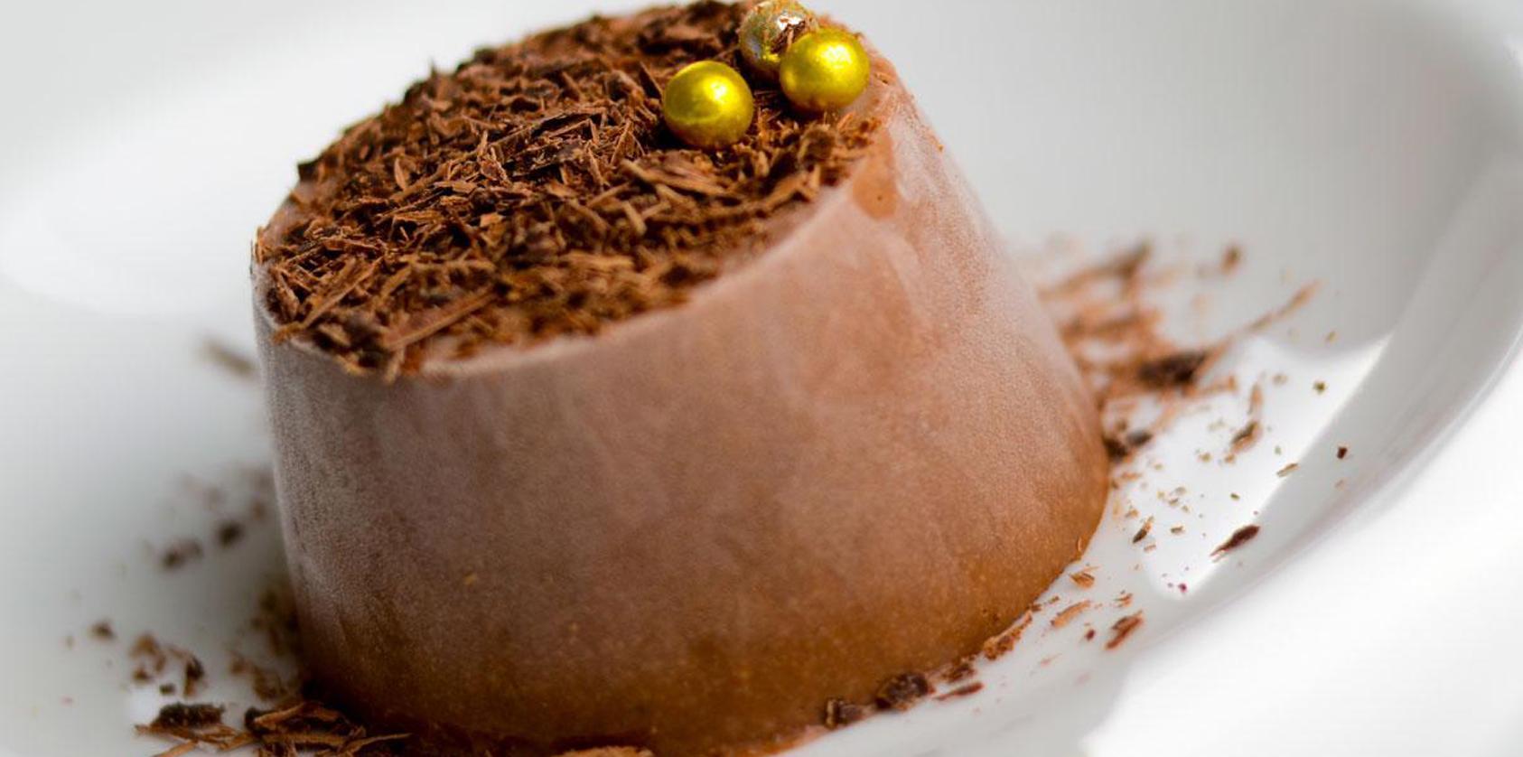 Recette parfait glac au chocolat et aux marrons cuisine madame figaro - Cuire des marrons en conserve ...