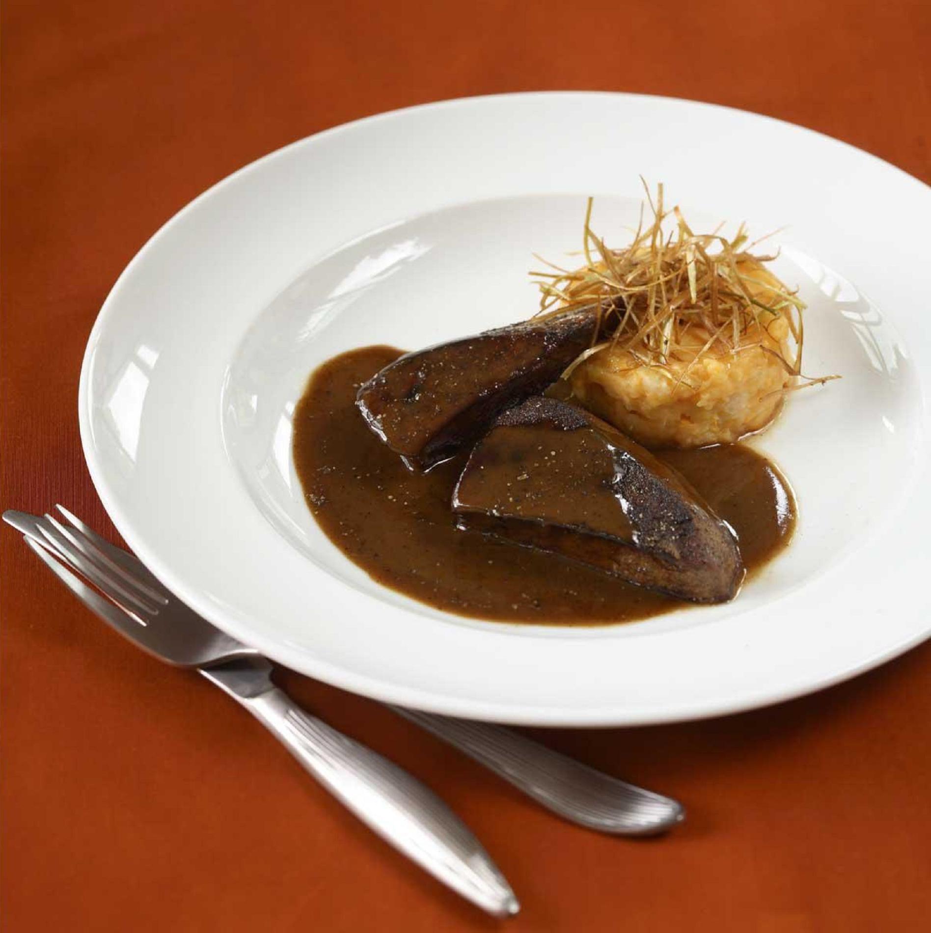recette foie de veau caf marsala cuisine madame figaro. Black Bedroom Furniture Sets. Home Design Ideas