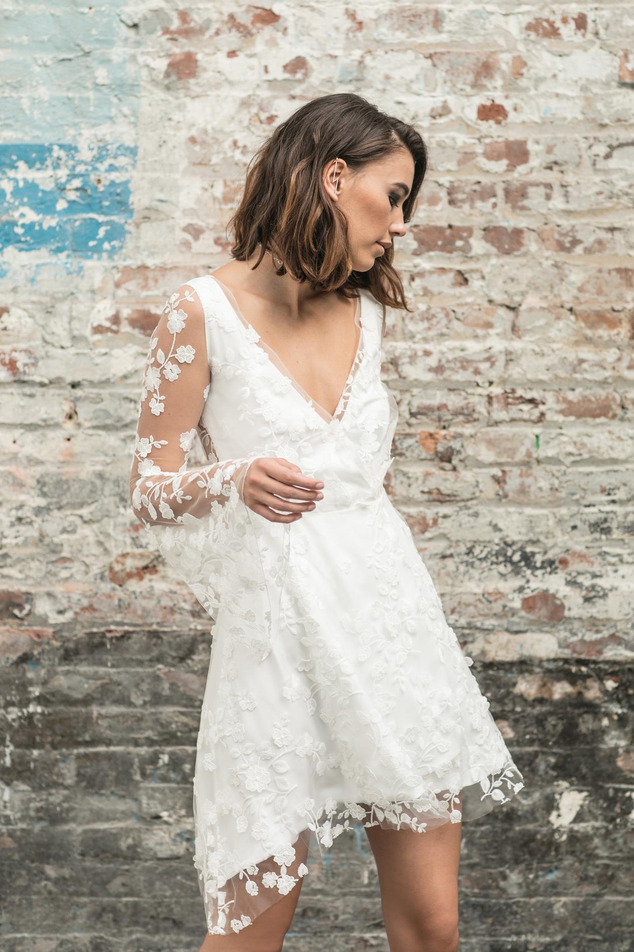Les robes de mariée civiles 2018 , Rime Arodaky