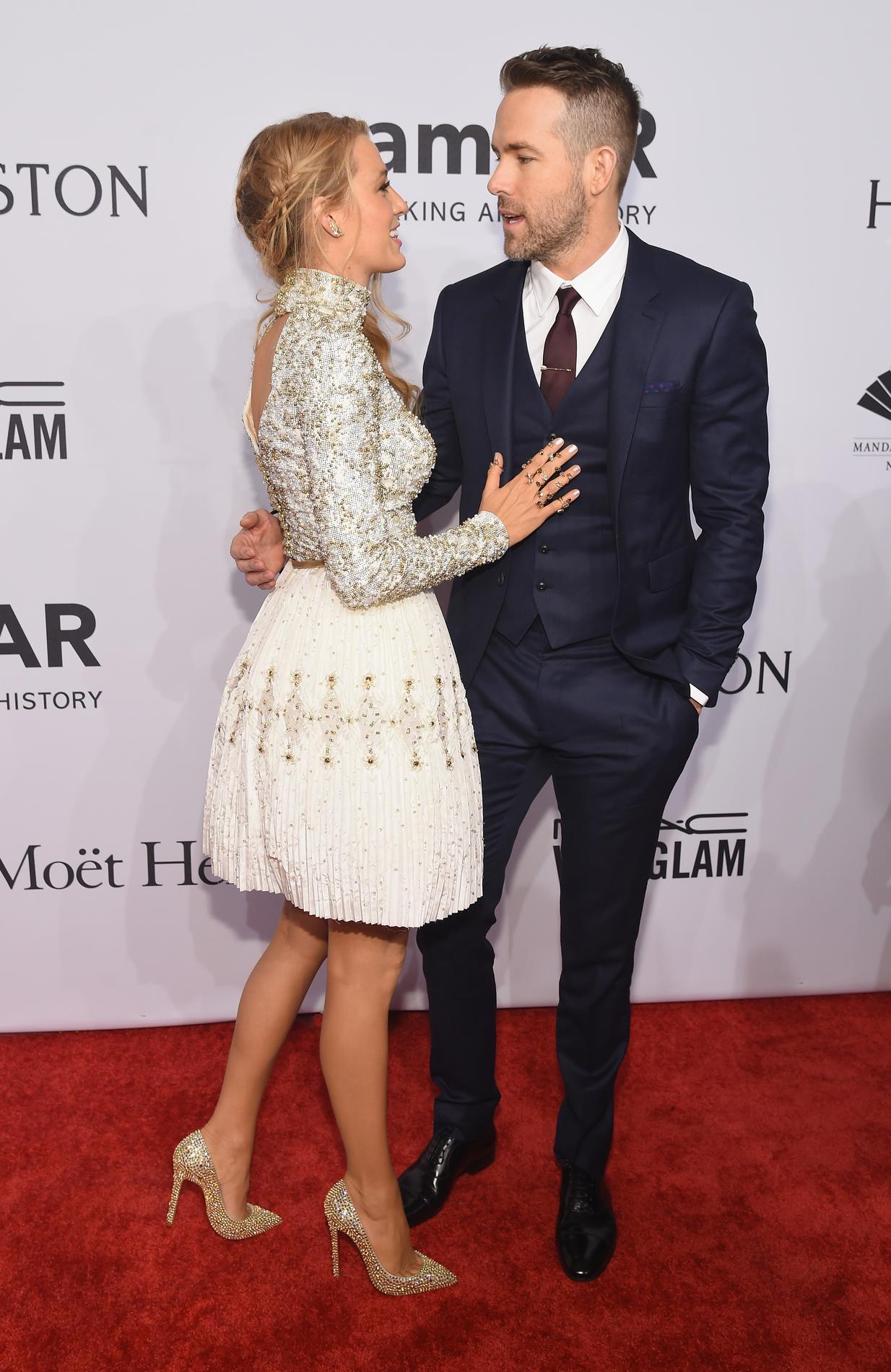 Ryan Reynolds et Blake Lively, le couple le plus cool de ... Blake Lively Baby