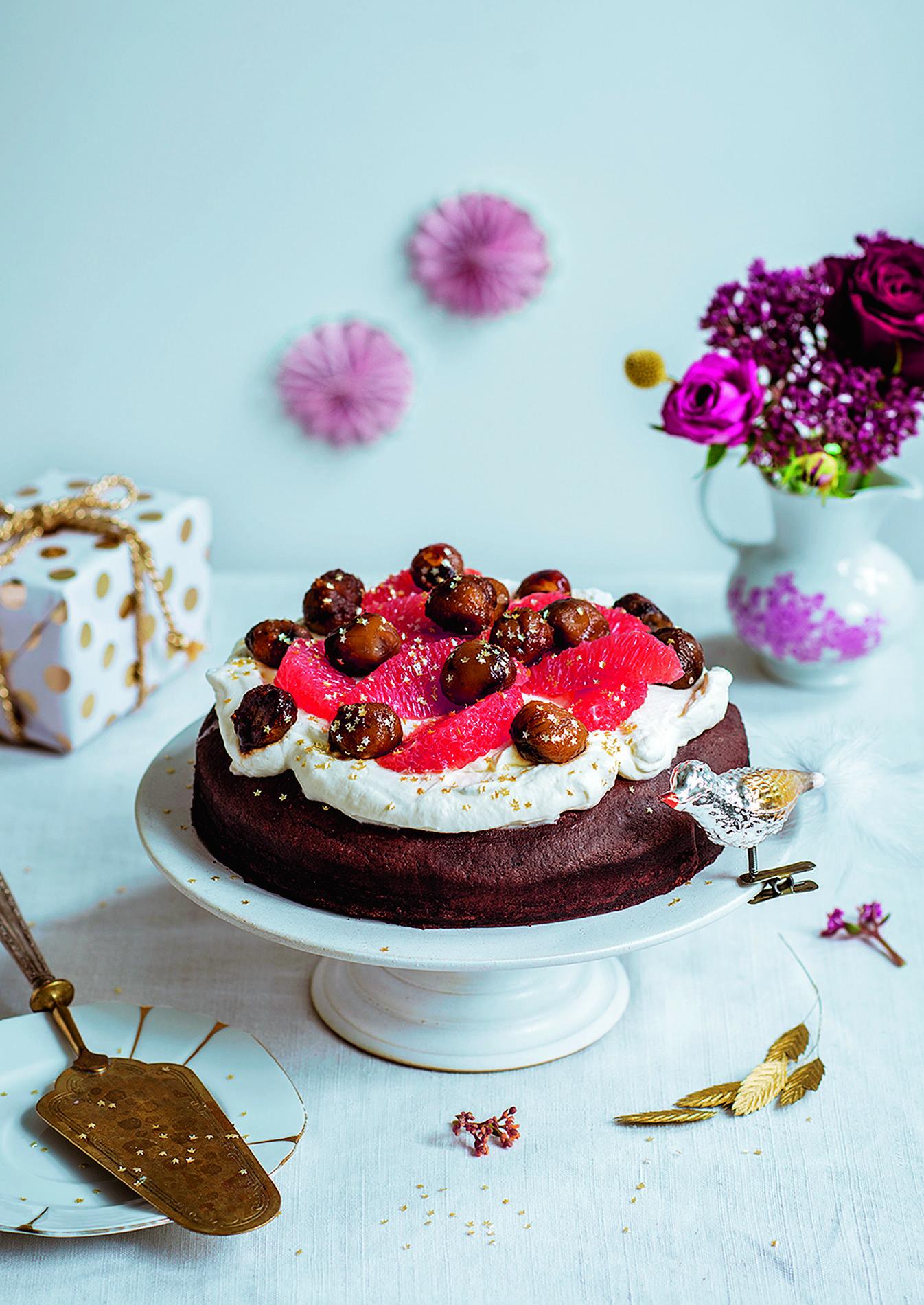 Recette G Teau Au Chocolat V Gan Aux Marrons Et Coco Cuisine Madame Figaro
