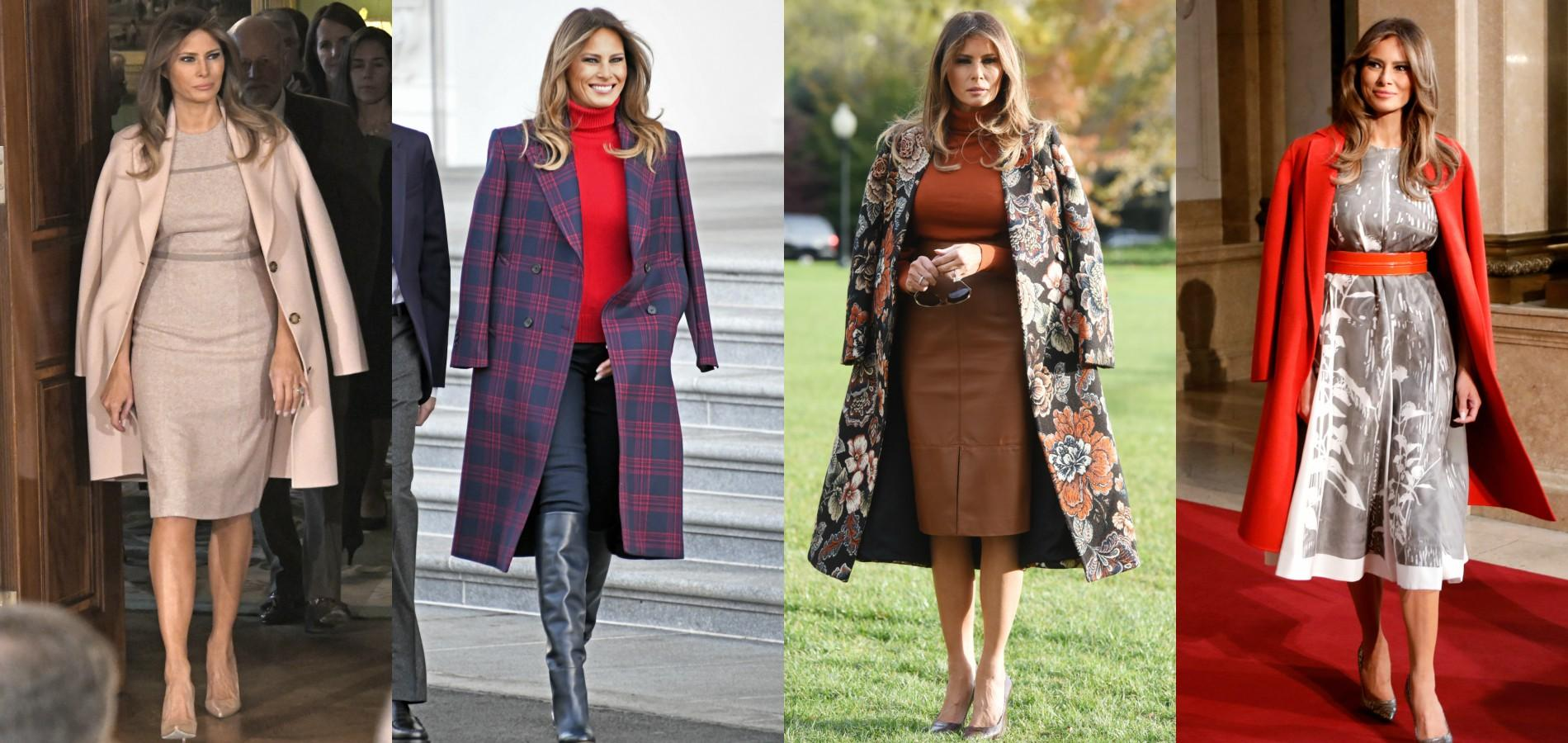 Melania Trump Fashion Photos
