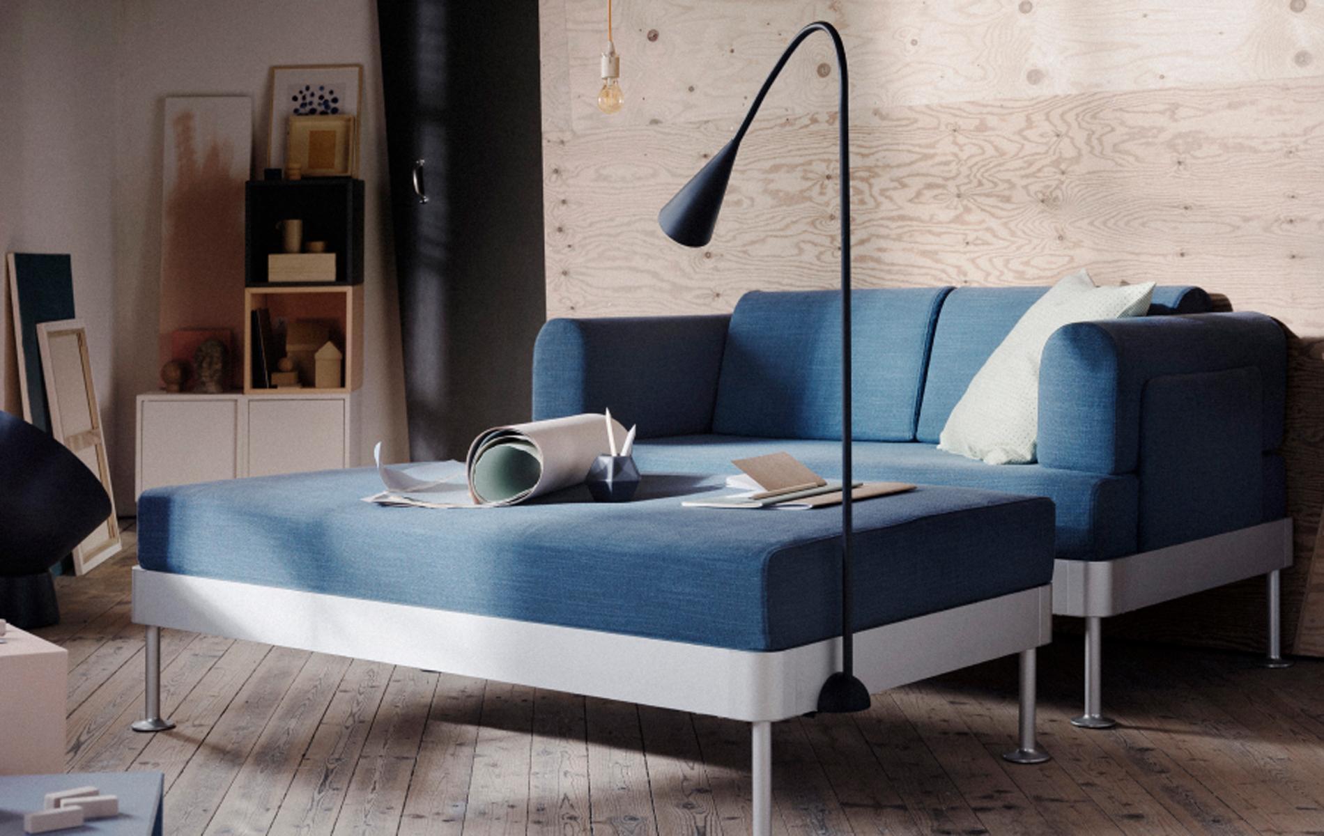 delaktig le canap ultra modulable sign tom dixon pour. Black Bedroom Furniture Sets. Home Design Ideas