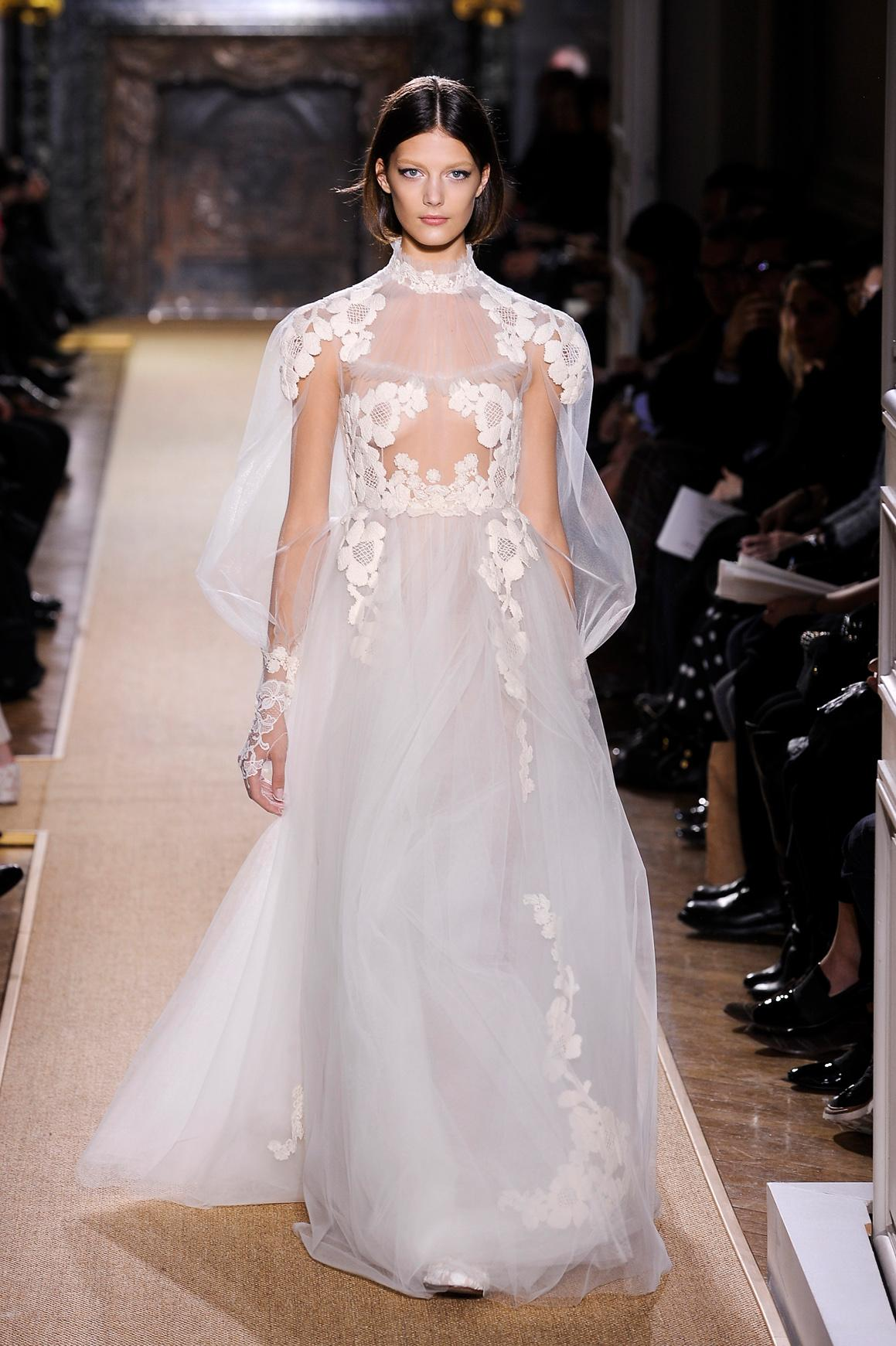 Les robes de mariée les plus mémorables de la haute couture , Chanel  Les robes de mariée les plus mémorables de la haute couture , Givenchy Les  robes de