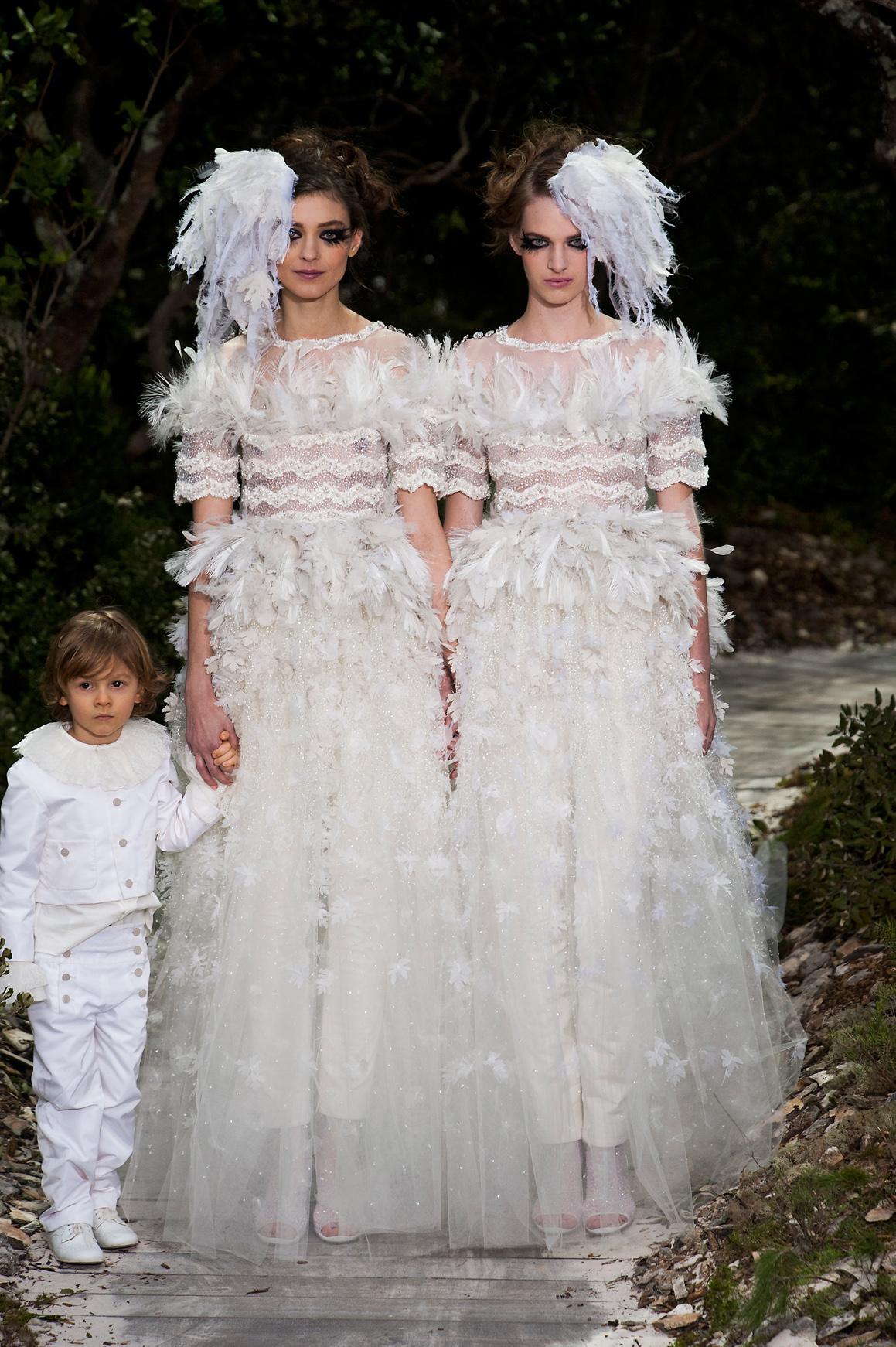 Les robes de mariée les plus mémorables de la haute couture , Chanel