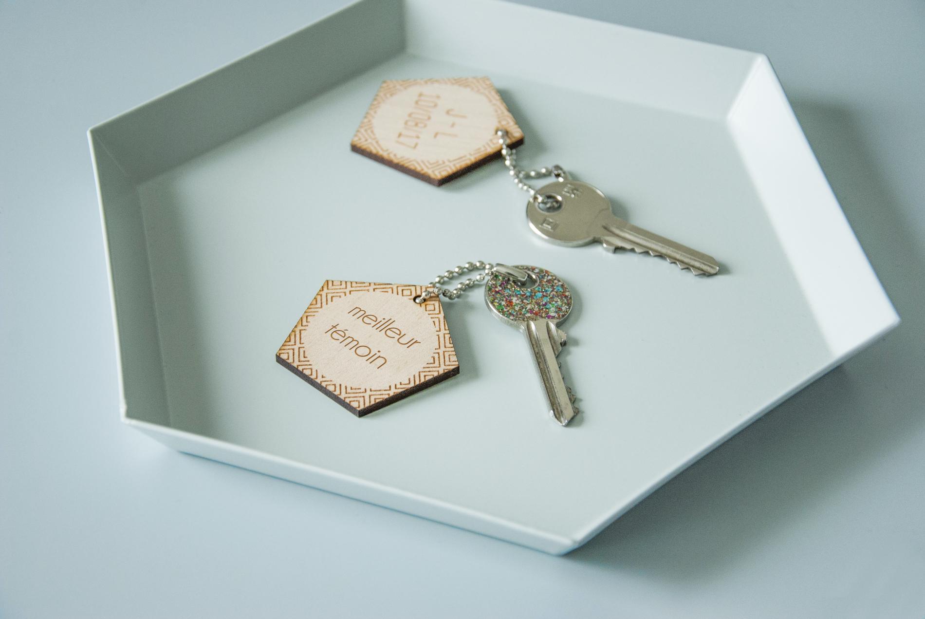 des cadeaux d invit s vraiment originaux pour un mariage personnalis madame figaro. Black Bedroom Furniture Sets. Home Design Ideas