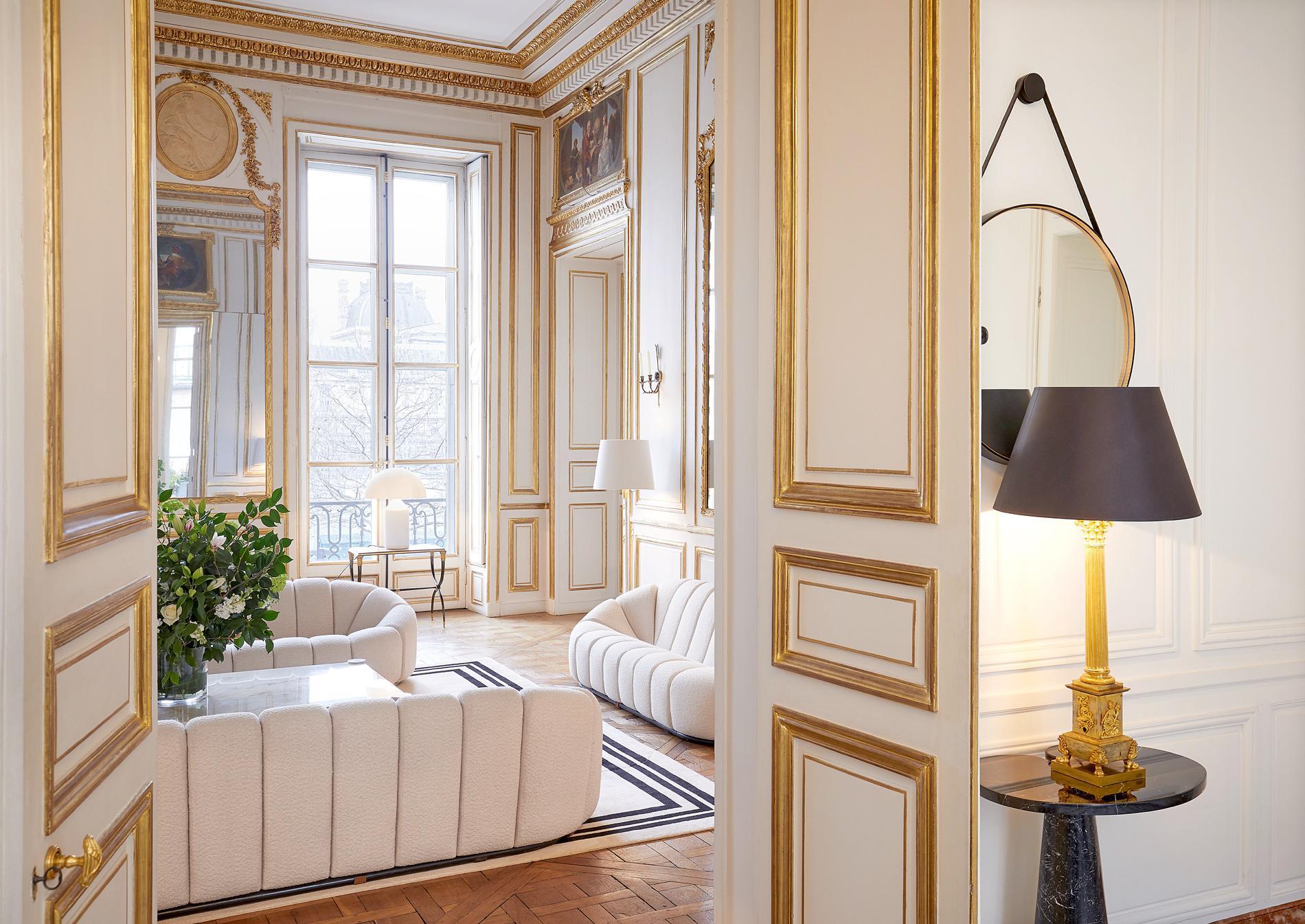 Nicolas ghesqui re dans son nouvel appartement parisien for Deco appartement 1900