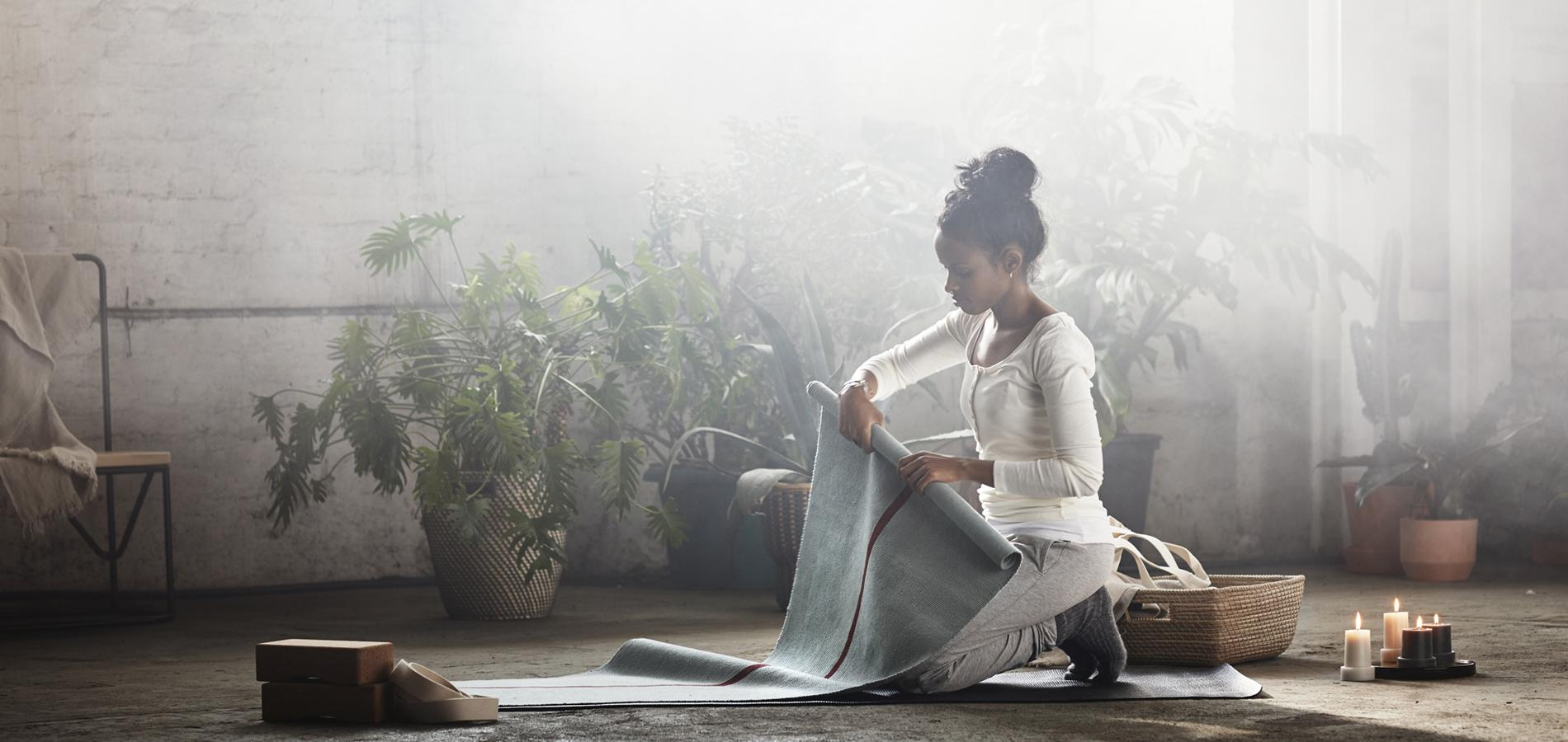 Ikea lance sa premi re collection d di e au yoga madame figaro - Ikea cree sa chambre ...