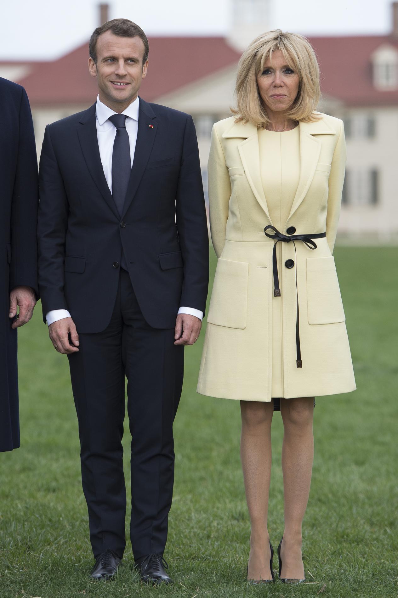 Melania Macron Brigitte Le Premières Trump Des Match Mode Dames Vs 611Uwdx
