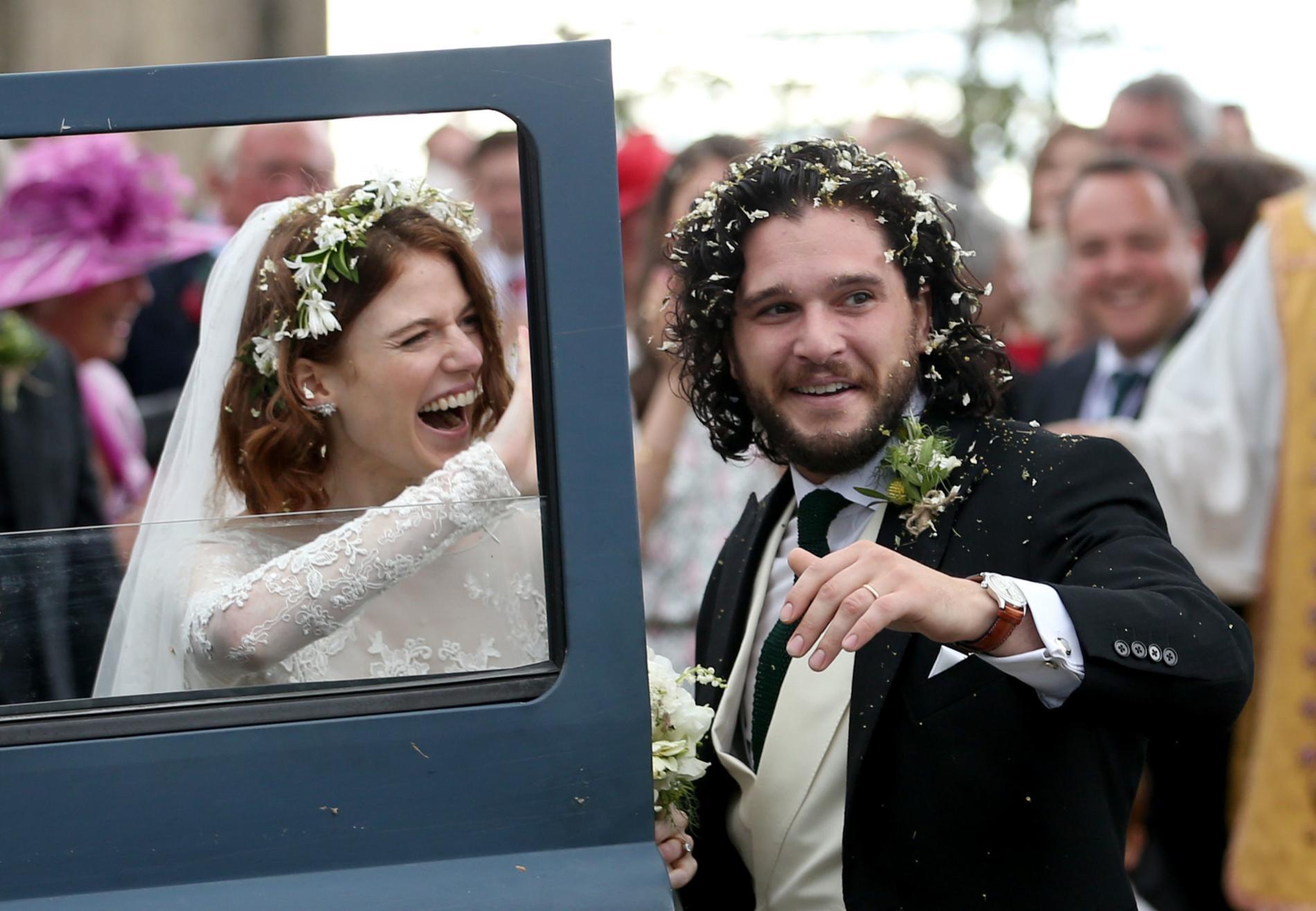 Kit Harington et Rose Leslie se sont dit oui !