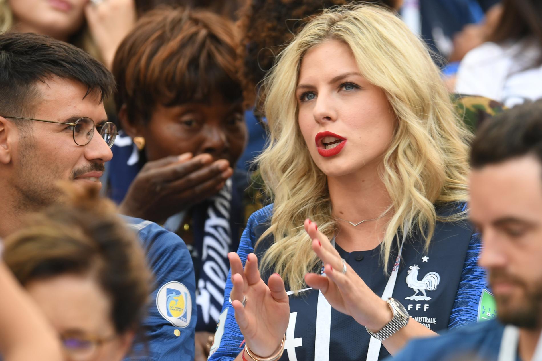 femme de footballeur francais