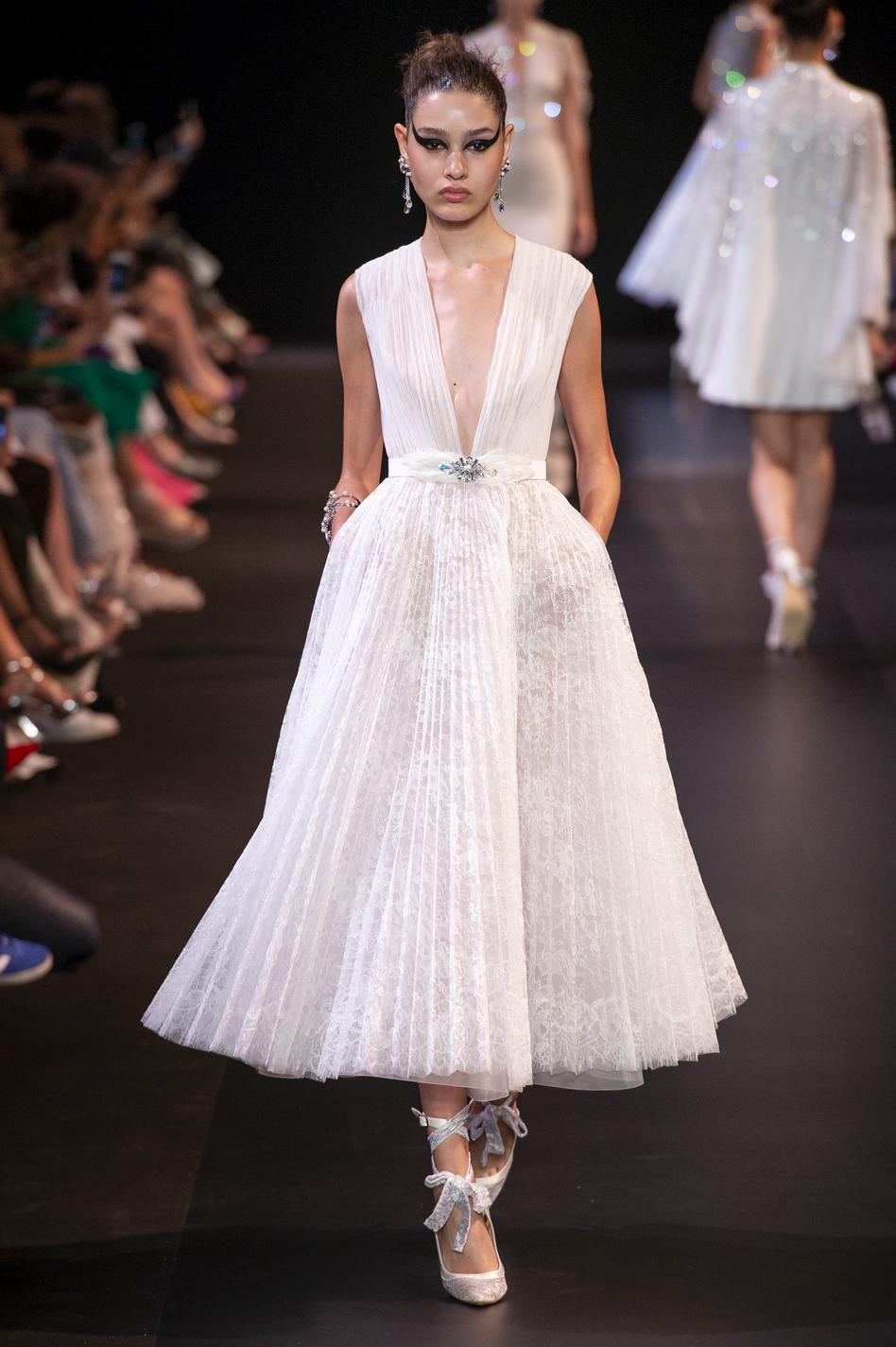 Les robes de mariée haute couture automne,hiver 2018,2019 , Georges  Hobeika
