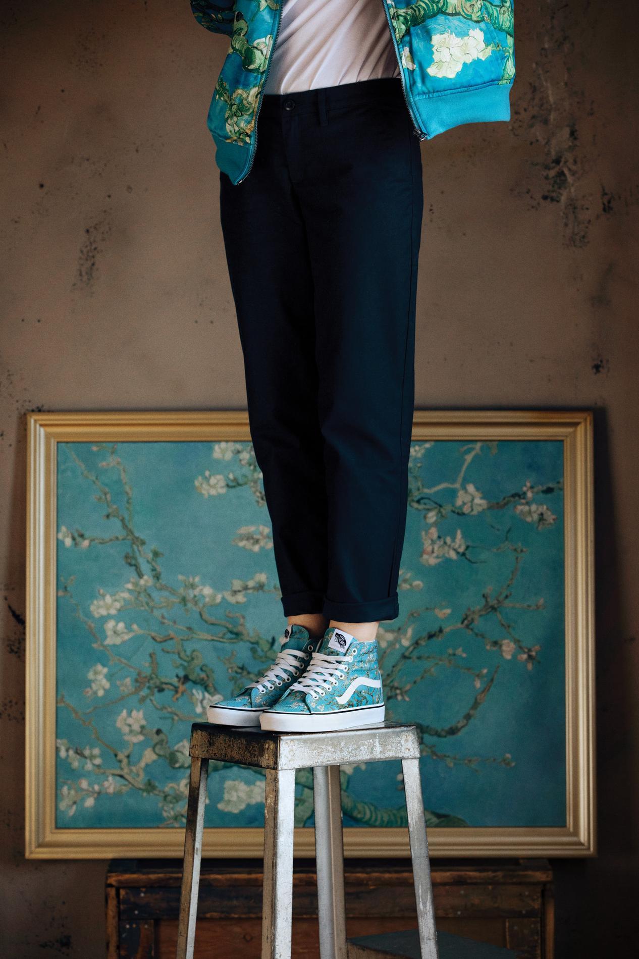 Vans x Vincent Van Gogh la capsule arty de inattendue de arty cet 5a93a5