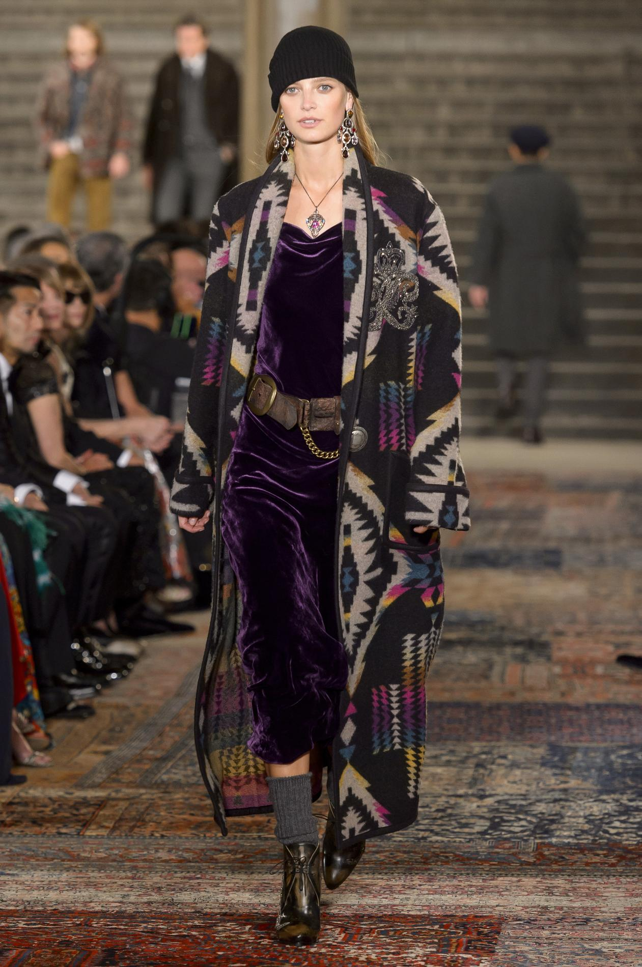 Défilé Ralph Lauren automne-hiver 2018-2019, New York - Look 56. Défilé  Ralph Lauren automne-hiver 2018-2019, New York ... cb3cc27cf0c
