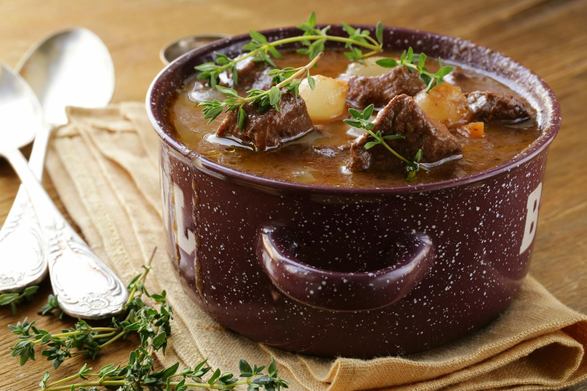 Recette Bœuf Bourguignon Traditionnel Cuisine Madame Figaro