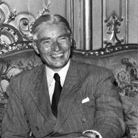 Georges Villiers, président du CNPF, ici en 1951.