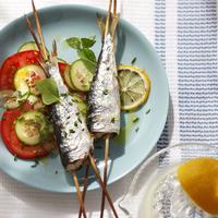 Sardines grillées au citron