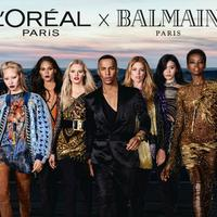 Balmain dévoile les images de sa collection de maquillage avec L'Oréal Paris