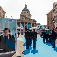 Simone Veil au Panthéon : la cérémonie en images