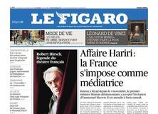 Le Figaro daté du 17 novembre 2017