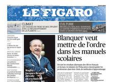 Le Figaro daté du 28 décembre 2017
