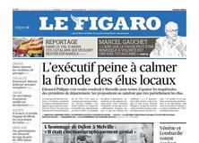 Le Figaro daté du 21 octobre 2017