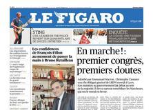 Le Figaro daté du 18 novembre 2017