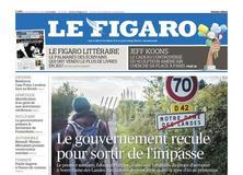 Le Figaro daté du 18 janvier 2018