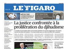 Le Figaro daté du 25 mai 2018