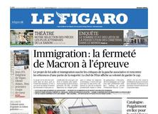 Le Figaro daté du 11 janvier 2018