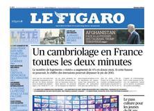 Le Figaro daté du 11 août 2017