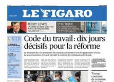 Le Figaro daté du 21 août 2017