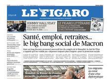 Le Figaro daté du 14 juin 2018