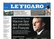 Le Figaro daté du 16 janvier 2018