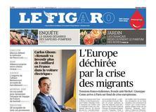 Le Figaro daté du 15 juin 2018