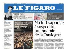 Le Figaro daté du 20 octobre 2017