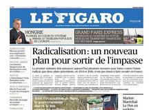 Le Figaro daté du 23 février 2018