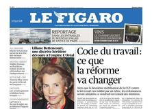 Le Figaro daté du 22 septembre 2017